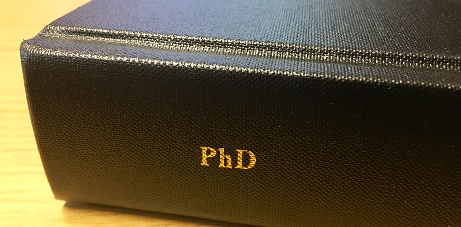 Three doctoral studentships from January 2021